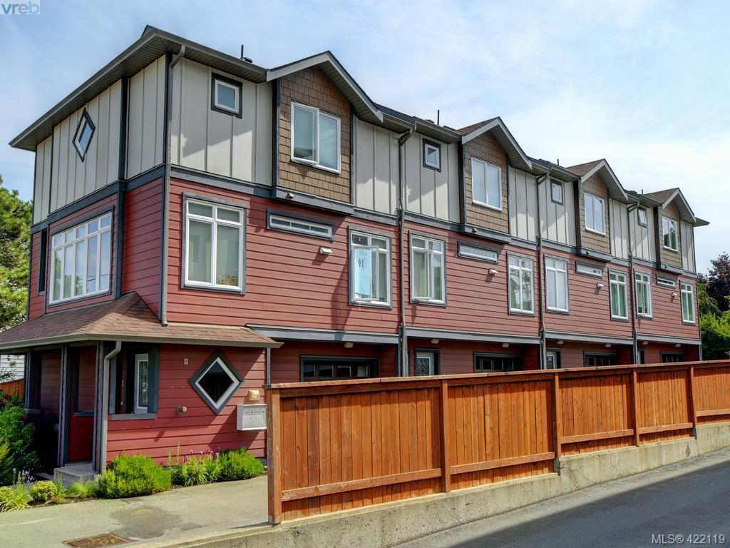 Main Photo: 1-4 617 Admirals Rd in VICTORIA: Es Rockheights Quadruplex for sale (Esquimalt)  : MLS®# 835544