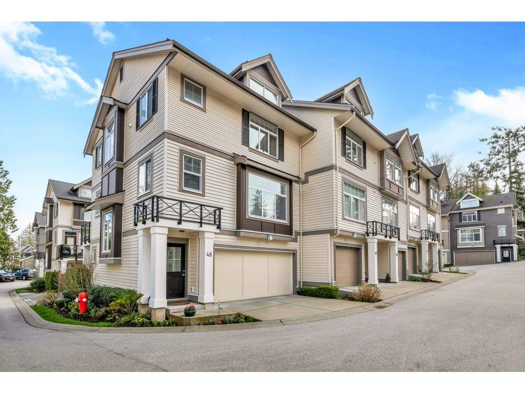 "Main Photo: 48 14377 60 Avenue in Surrey: Sullivan Station Townhouse for sale in ""Blume"" : MLS®# R2458487"