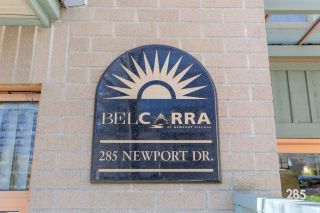 "Photo 1: 406 285 NEWPORT Drive in Port Moody: North Shore Pt Moody Condo for sale in ""THE BELCARRA"" : MLS®# R2466431"