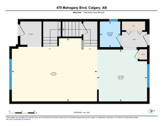 Photo 3: 479 MAHOGANY Boulevard SE in Calgary: Mahogany Semi Detached for sale : MLS®# A1025013