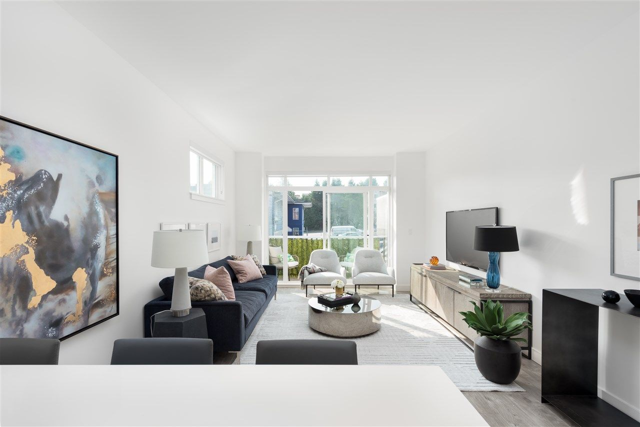 """Main Photo: 2 3868 NORFOLK Street in Burnaby: Central BN Townhouse for sale in """"SMITH+NORFOLK"""" (Burnaby North)  : MLS®# R2555628"""
