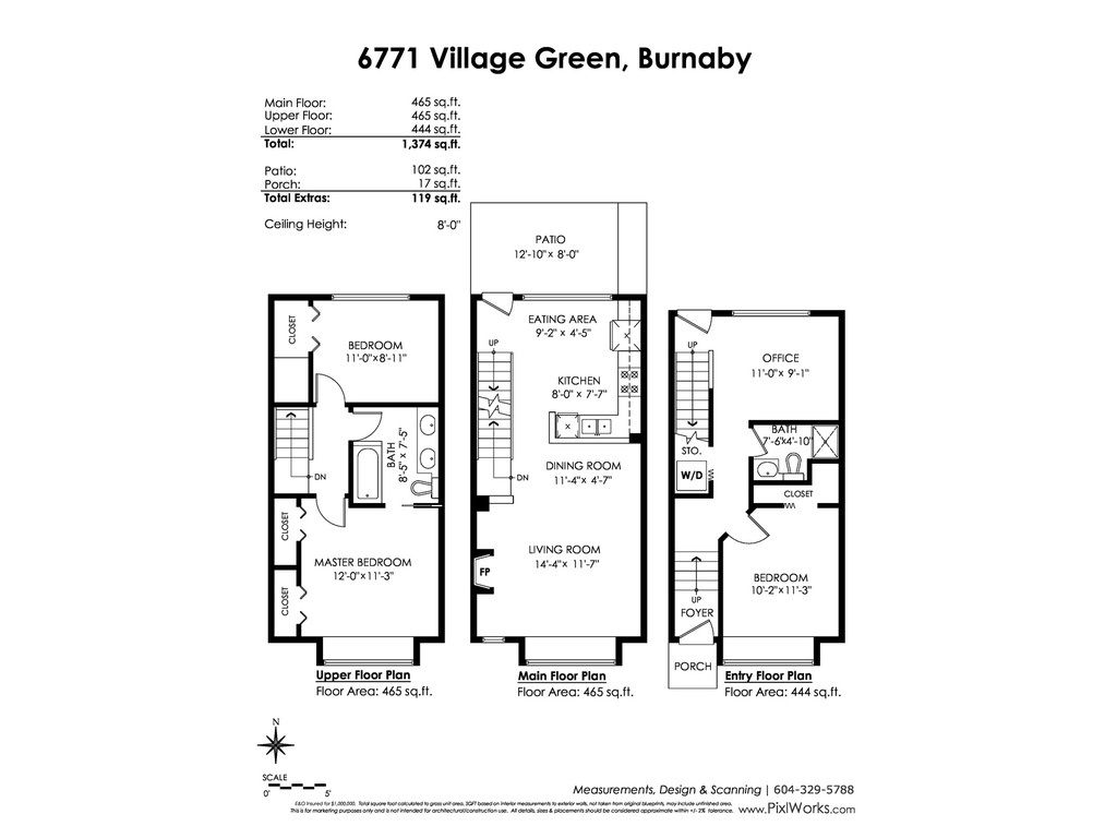 Photo 20: Photos: 6771 VILLAGE GRN in Burnaby: Highgate Townhouse for sale (Burnaby South)  : MLS®# R2439799