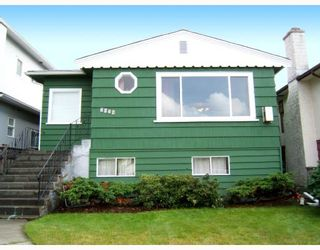 """Photo 1: 3438 E 24TH Avenue in Vancouver: Renfrew Heights House for sale in """"RENFREW HEIGHTS"""" (Vancouver East)  : MLS®# V670587"""