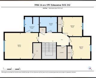 Photo 32: 5506 14 Avenue in Edmonton: Zone 53 House Half Duplex for sale : MLS®# E4244915