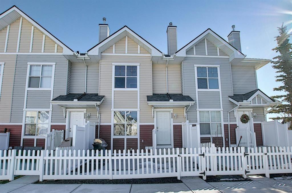 Main Photo: 3326 New Brighton Gardens SE in Calgary: New Brighton Row/Townhouse for sale : MLS®# A1077615