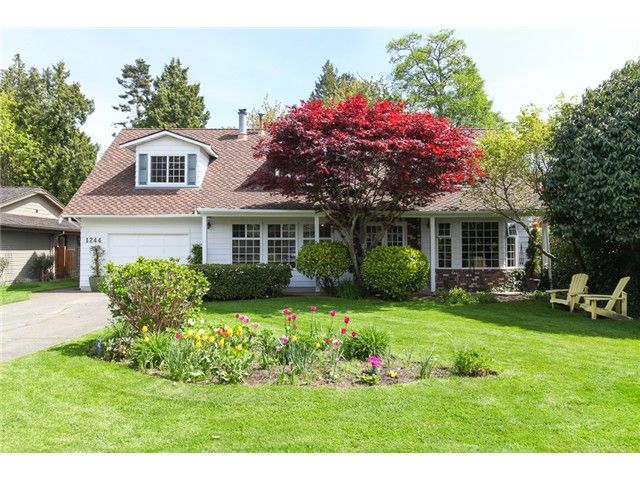 Main Photo: 1244 49TH ST in Tsawwassen: Cliff Drive House for sale : MLS®# V1061965