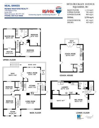 "Photo 39: 38724 BUCKLEY Avenue in Squamish: Dentville House for sale in ""Dentville"" : MLS®# R2572436"