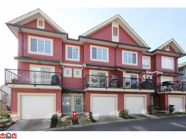 """Main Photo: 25 6635 192ND Street in Surrey: Clayton Townhouse for sale in """"Leafside Lane"""" (Cloverdale)  : MLS®# F1204688"""