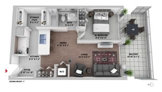 """Photo 19: 308 788 HAMILTON Street in Vancouver: Downtown VW Condo for sale in """"TV Towers"""" (Vancouver West)  : MLS®# R2514915"""