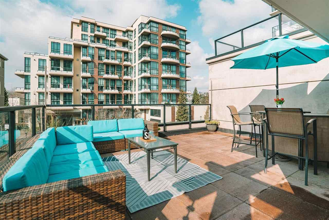 """Main Photo: 101 1 RENAISSANCE Square in New Westminster: Quay Townhouse for sale in """"THE """"Q"""""""" : MLS®# R2550911"""