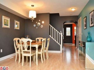 """Photo 3: 20 18883 65TH Avenue in Surrey: Cloverdale BC Townhouse for sale in """"APPLEWOOD"""" (Cloverdale)  : MLS®# F1206291"""