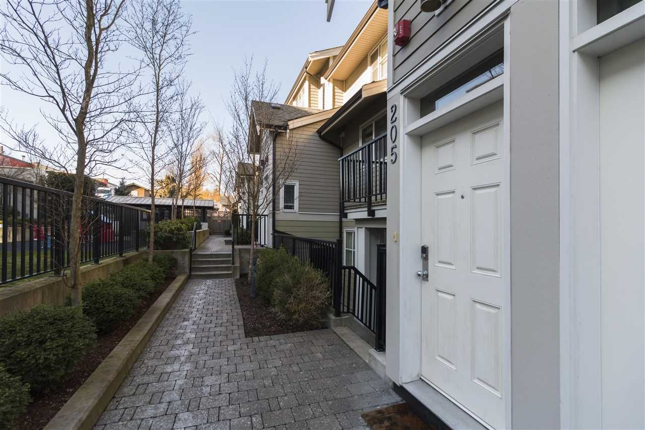 """Main Photo: 205 3788 NORFOLK Street in Burnaby: Central BN Townhouse for sale in """"Panacasa"""" (Burnaby North)  : MLS®# R2239657"""