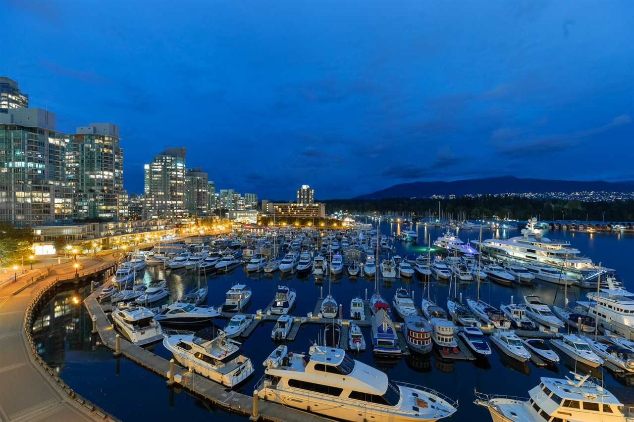 Main Photo: 607 323 JERVIS STREET in Vancouver: Coal Harbour Condo for sale (Vancouver West)  : MLS®# R2546644