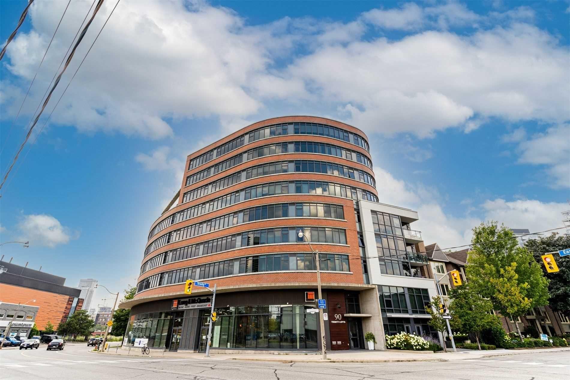 Main Photo: 709 90 Trinity Street in Toronto: Moss Park Condo for lease (Toronto C08)  : MLS®# C5327018