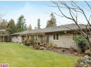 """Photo 1: 17385 HILLVIEW Place in Surrey: Grandview Surrey House for sale in """"COUNTRY WOODS"""" (South Surrey White Rock)  : MLS®# F1104130"""