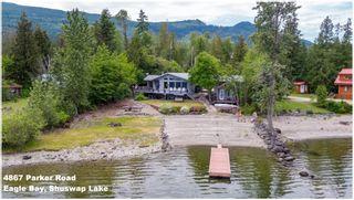 Photo 2: 4867 Parker Road: Eagle Bay House for sale (Shuswap Lake)  : MLS®# 10186336