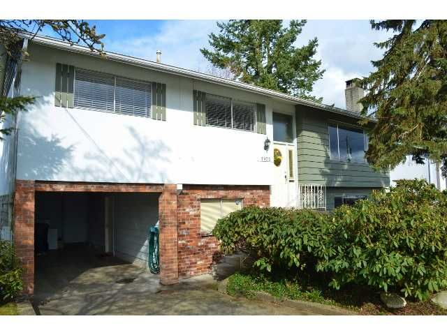 Main Photo: 1935 ROUTLEY AV in Port Coquitlam: Lower Mary Hill House for sale : MLS®# V937180