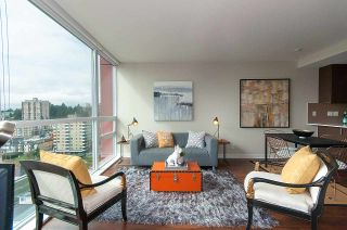 "Photo 4: 1905 125 COLUMBIA Street in New Westminster: Downtown NW Condo for sale in ""NORTHBANK"" : MLS®# R2255130"