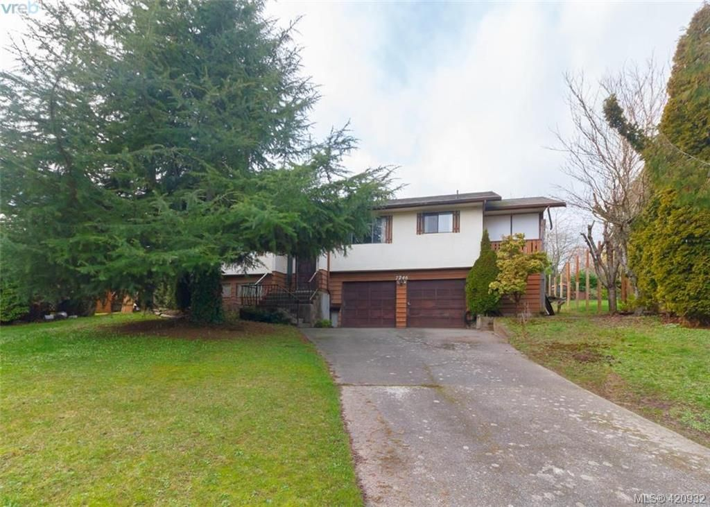 Main Photo: 7246 Walcer Pl in SAANICHTON: CS Saanichton House for sale (Central Saanich)  : MLS®# 833142