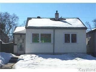 Main Photo: 38 Hespeler Avenue in Winnipeg: Glen Elm Residential for sale (Elmwood)  : MLS®# 1604362