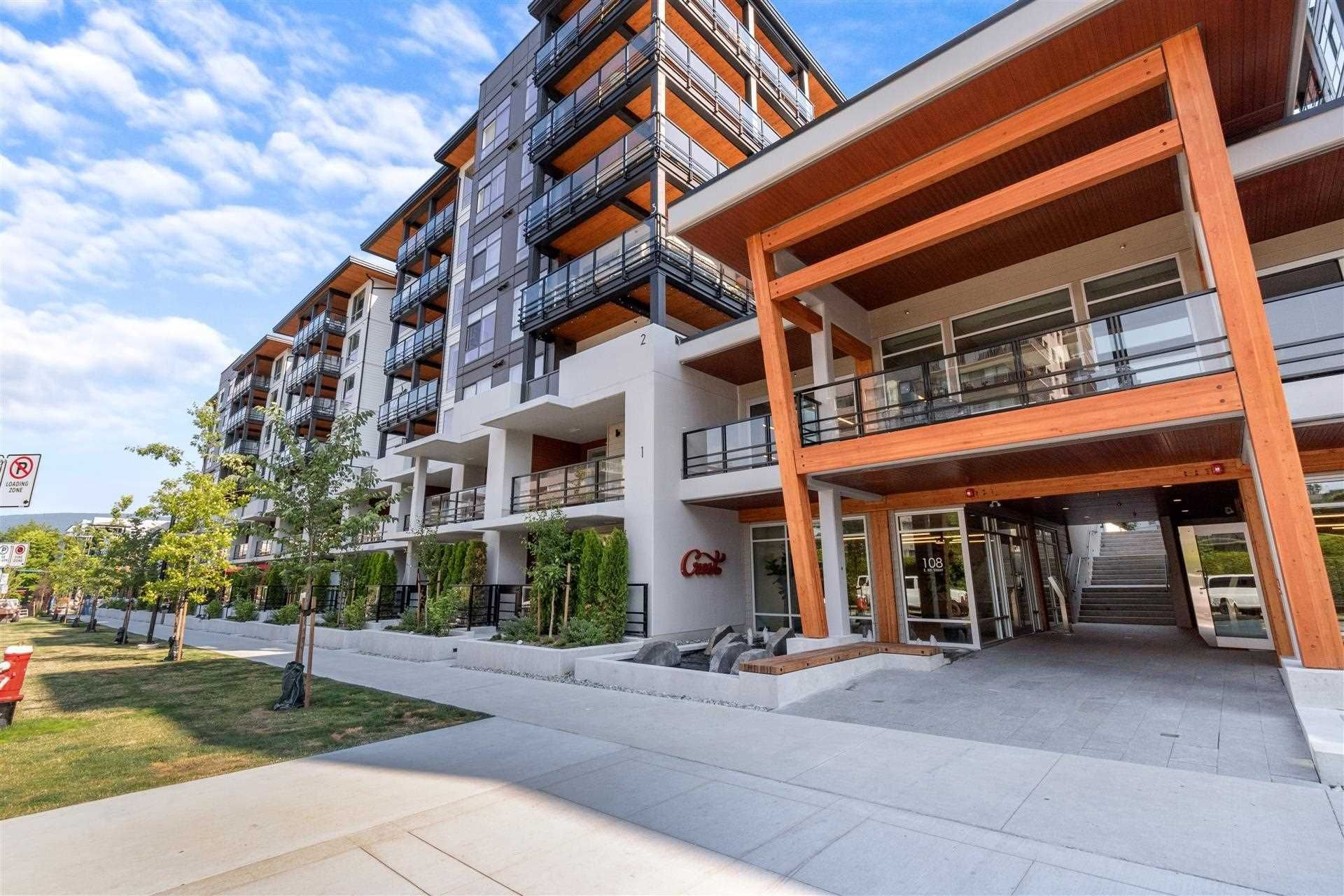 """Main Photo: 219 108 E 8TH Street in North Vancouver: Central Lonsdale Condo for sale in """"CREST BY ADERA"""" : MLS®# R2597882"""