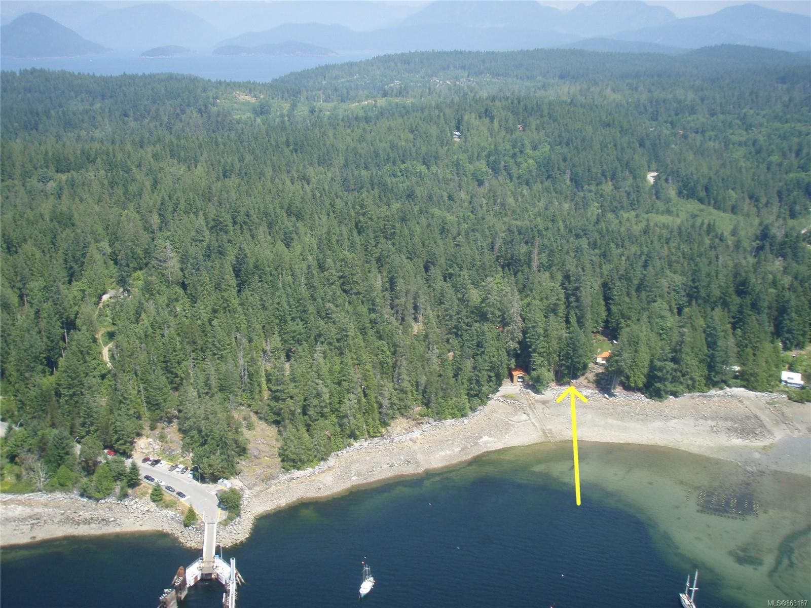 Main Photo: 320 Huck Rd in : Isl Cortes Island House for sale (Islands)  : MLS®# 863187