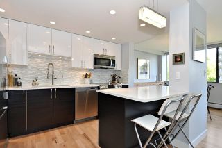 "Photo 7: 402 1616 W 13TH Avenue in Vancouver: Fairview VW Condo for sale in ""GRANVILLE GARDENS"" (Vancouver West)  : MLS®# R2058683"