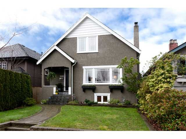Main Photo: 3830 W 18TH Avenue in Vancouver: Dunbar House for sale (Vancouver West)  : MLS®# V934696