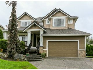 """Photo 1: 5888 163B Street in Surrey: Cloverdale BC House for sale in """"The Highlands"""" (Cloverdale)  : MLS®# F1321640"""