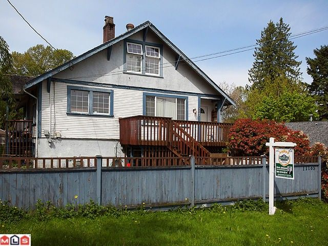 Main Photo: 11165 132ND Street in Surrey: Whalley House for sale (North Surrey)  : MLS®# F1211045