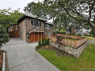 Photo 1: 1274 Vista Hts in VICTORIA: Vi Hillside Half Duplex for sale (Victoria)  : MLS®# 611096