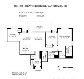 Photo 29: 215 2851 HEATHER STREET in Vancouver: Fairview VW Condo for sale (Vancouver West)  : MLS®# R2549357