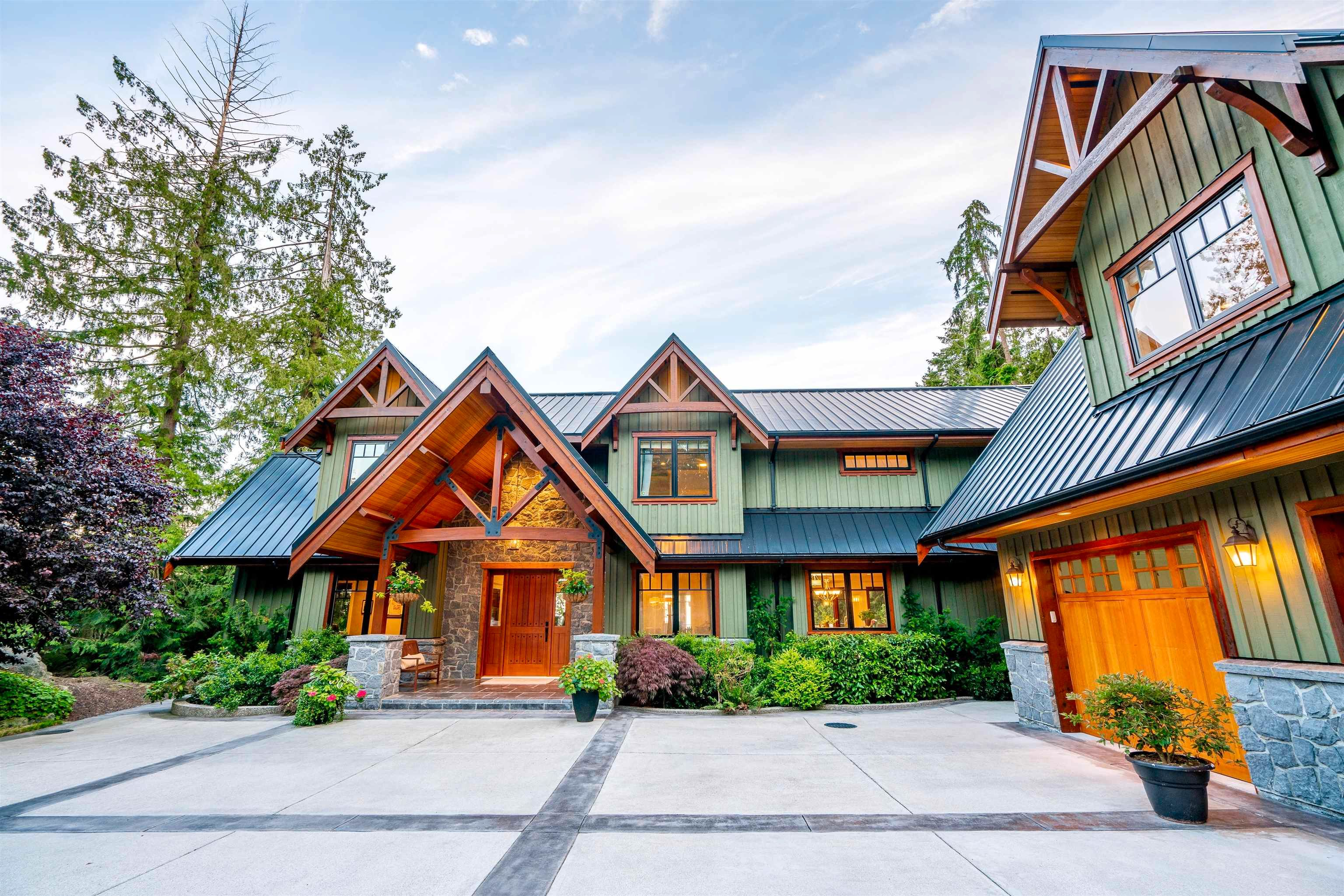 Main Photo: 949 ARBUTUS BAY Lane: Bowen Island House for sale : MLS®# R2615940