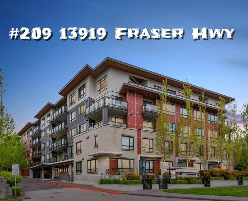 FEATURED LISTING: 209 - 13919 FRASER Highway Surrey
