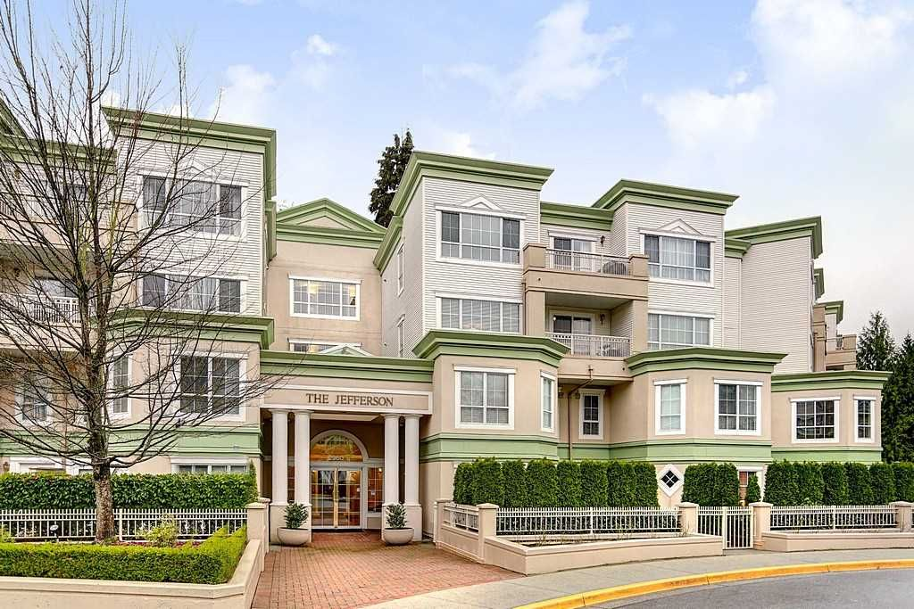 "Main Photo: 419 2960 PRINCESS Crescent in Coquitlam: Canyon Springs Condo for sale in ""THE JEFFERSON"" : MLS®# R2125815"
