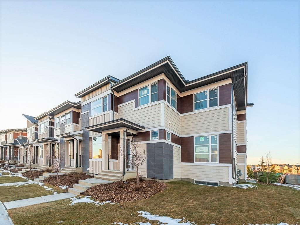 Main Photo: 166 SKYVIEW Circle NE in Calgary: Skyview Ranch Row/Townhouse for sale : MLS®# C4277691