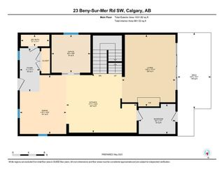 Photo 45: 23 BENY-SUR-MER Road SW in Calgary: Currie Barracks Detached for sale : MLS®# A1108141