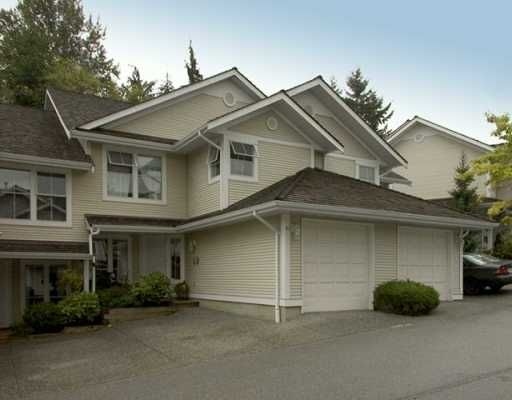 """Main Photo: 10 2590 PANORAMA DR in Coquitlam: Westwood Plateau Townhouse for sale in """"BUCKINGHAM CRT"""" : MLS®# V611443"""
