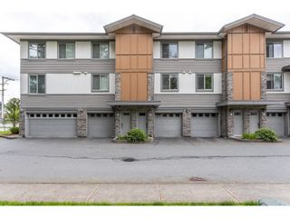 """Photo 1: 93 34248 KING Road in Abbotsford: Poplar Townhouse for sale in """"ARGYLE"""" : MLS®# R2585152"""