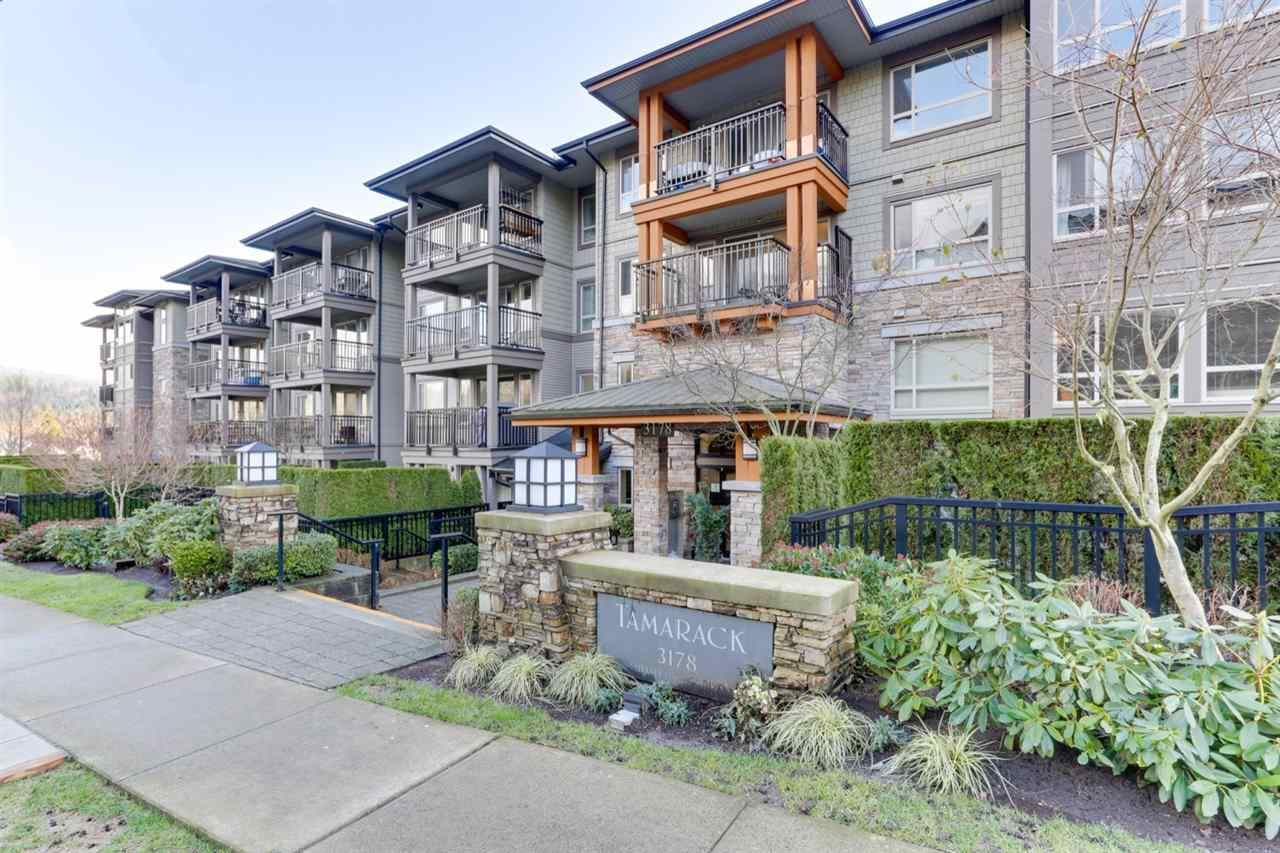 "Main Photo: 311 3178 DAYANEE SPRINGS Boulevard in Coquitlam: Westwood Plateau Condo for sale in ""TAMARACK"" : MLS®# R2530010"