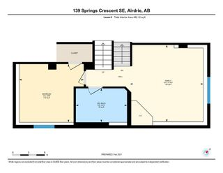 Photo 37: 139 Springs Crescent SE: Airdrie Detached for sale : MLS®# A1065825