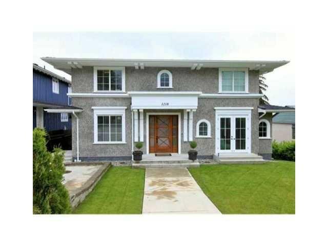 Main Photo: 1218 GORDON AV in West Vancouver: Ambleside House for sale : MLS®# V1047508