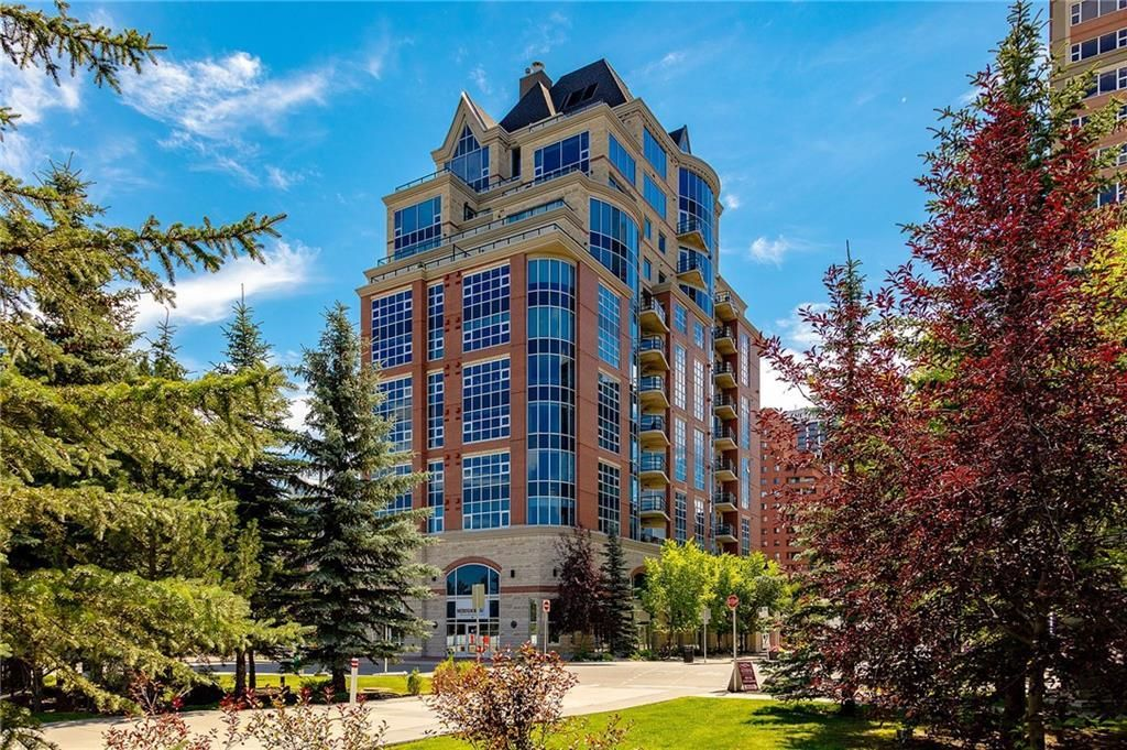 Main Photo: 505 110 7 Street SW in Calgary: Eau Claire Apartment for sale : MLS®# C4239151
