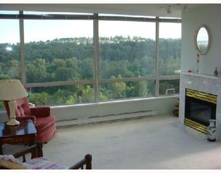"Photo 2: 1402 9603 MANCHESTER Drive in Burnaby: Cariboo Condo for sale in ""Strathmore Towers"" (Burnaby North)  : MLS®# V715077"