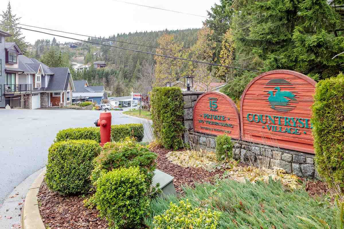 """Main Photo: 19 3295 SUNNYSIDE Road: Anmore Manufactured Home for sale in """"COUNTRYSIDE VILLAGE"""" (Port Moody)  : MLS®# R2518632"""