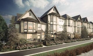 """Photo 1: 79 8050 204 Street in Langley: Willoughby Heights Townhouse for sale in """"ASHBURY + OAK"""" : MLS®# R2308442"""