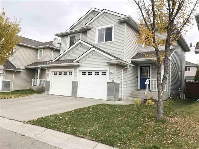 Main Photo: 39 1428 HODGSON Way in Edmonton: Zone 14 House Half Duplex for sale : MLS®# E4249654
