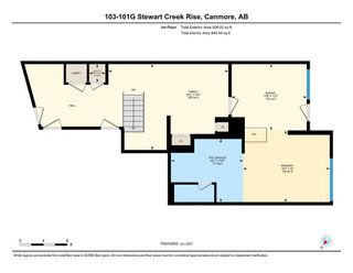 Photo 36: 103 101G Stewart Creek Rise: Canmore Row/Townhouse for sale : MLS®# A1122125
