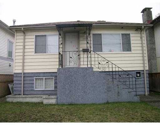 Main Photo: 4919 RUPERT ST in Vancouver: Collingwood Vancouver East House for sale (Vancouver East)  : MLS®# V579873