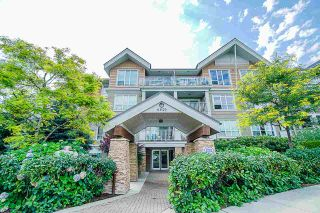 "Photo 1: 311 6420 194 Street in Surrey: Clayton Condo for sale in ""Waterstone"" (Cloverdale)  : MLS®# R2560363"